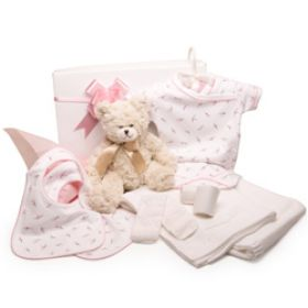 Pink Princess Baby Girl Hamper