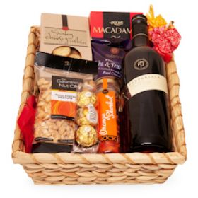 Australian Red Gift Basket