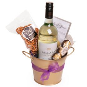 Bucket of White Wine Gift Hamper