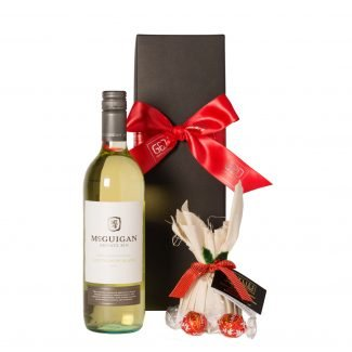 1. White Wine with Christmas Chocolate LR