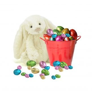 Easter Bucket & Bunny